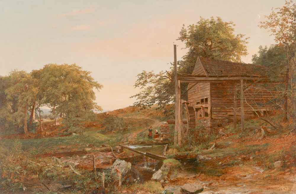 The Watermill - Jasper Francis Cropsey