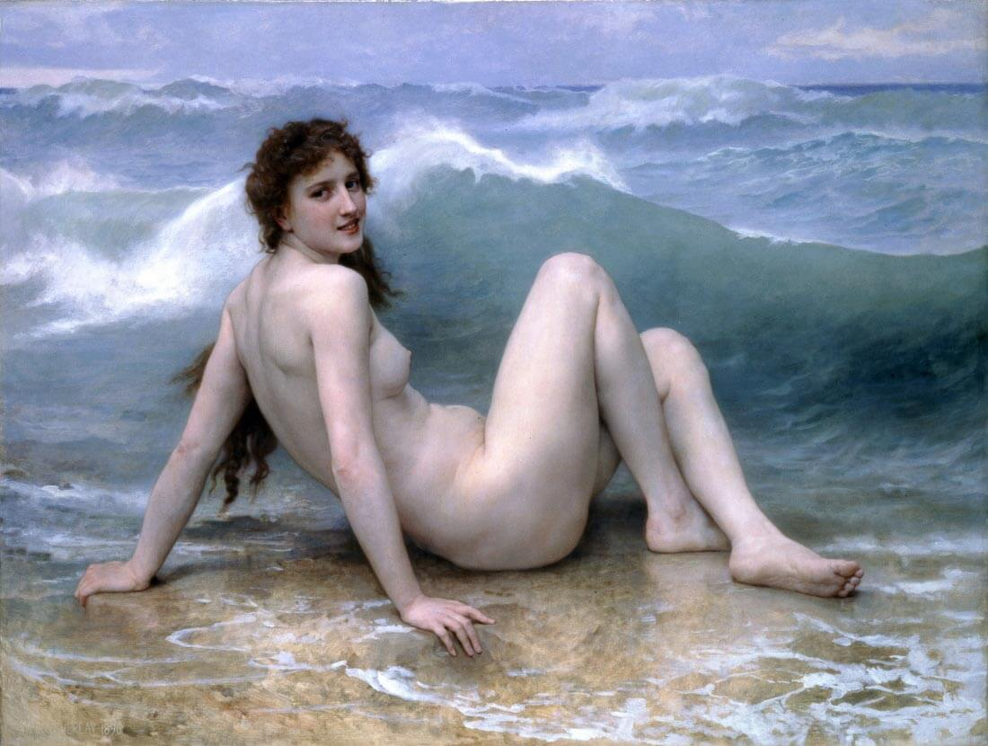 The Wave - Bouguereau