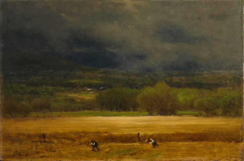 The Wheat Field - George Inness