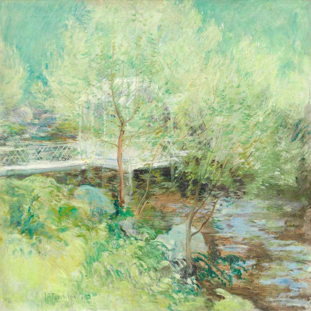 The White Bridge 2 - John Henry Twachtman