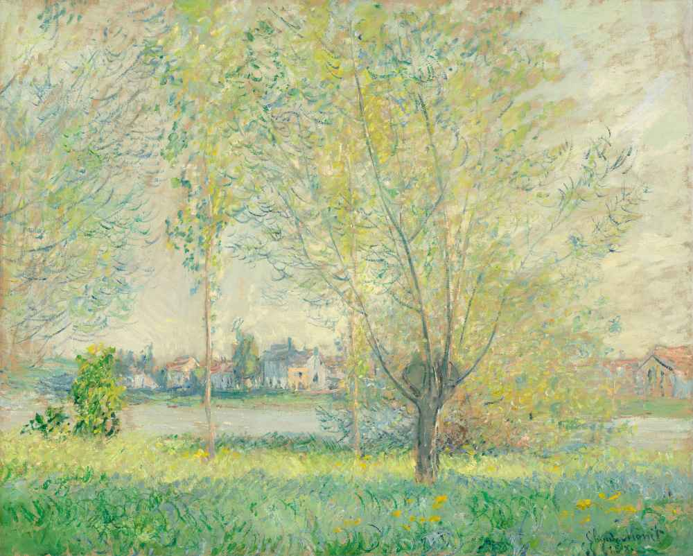 The Willows - Claude Monet