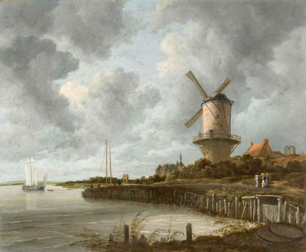 The Windmill at Wijk bij Duurstede - Jacob van Ruisdael