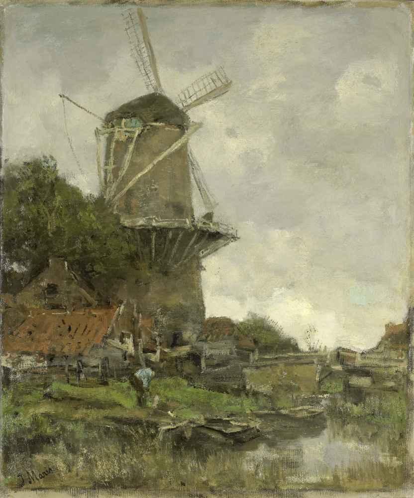 The Windmill - Matthijs Maris