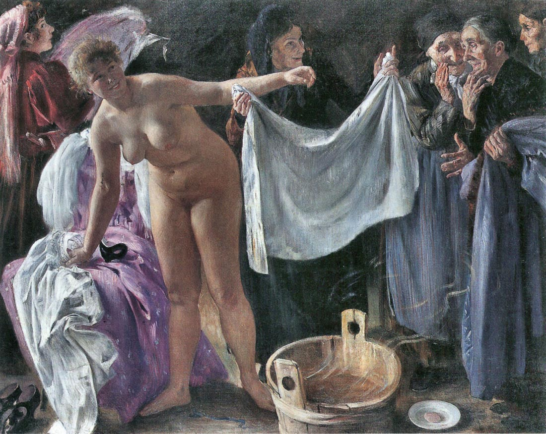 The Witches - Lovis Corinth