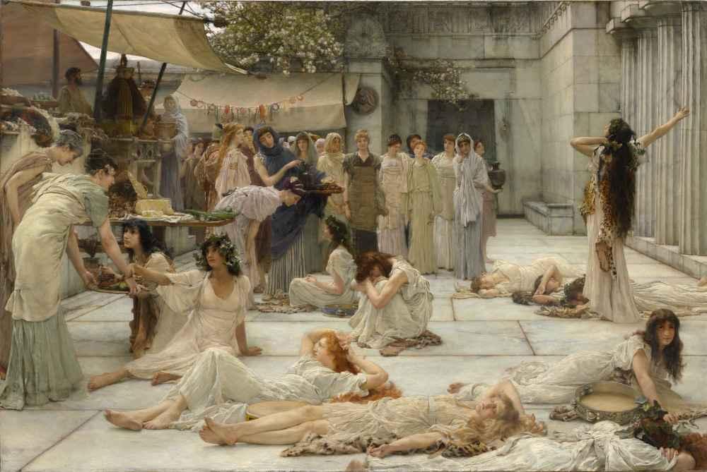The Women of Amphissa - Lawrence Alma-Tadema