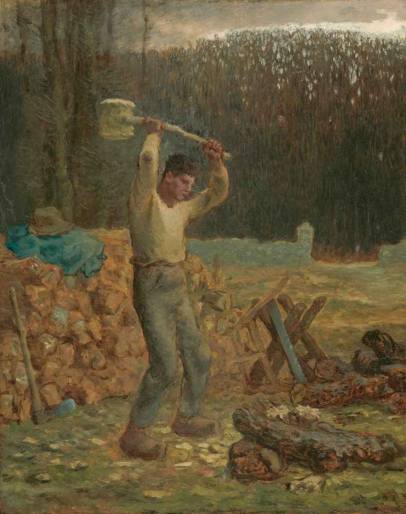 The Woodchopper - Jean Francois Millet