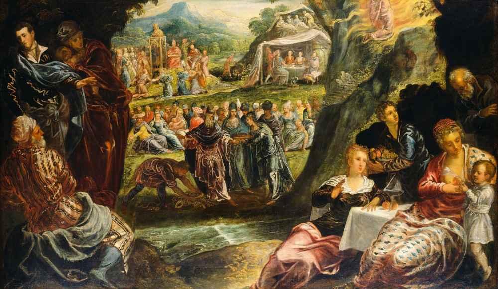 The Worship of the Golden Calf - Jacopo Tintoretto