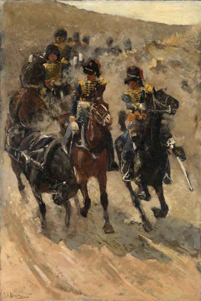 The Yellow Riders - George Hendrik Breitner