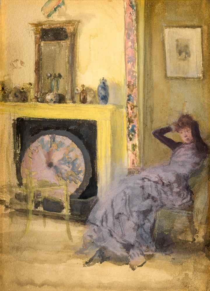 The Yellow Room - James Abbott McNeill Whistler