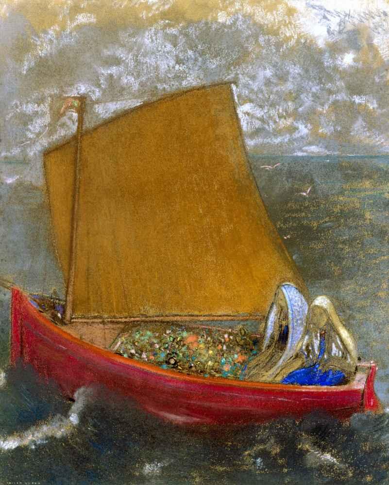 The Yellow Sail - Odilon Redon