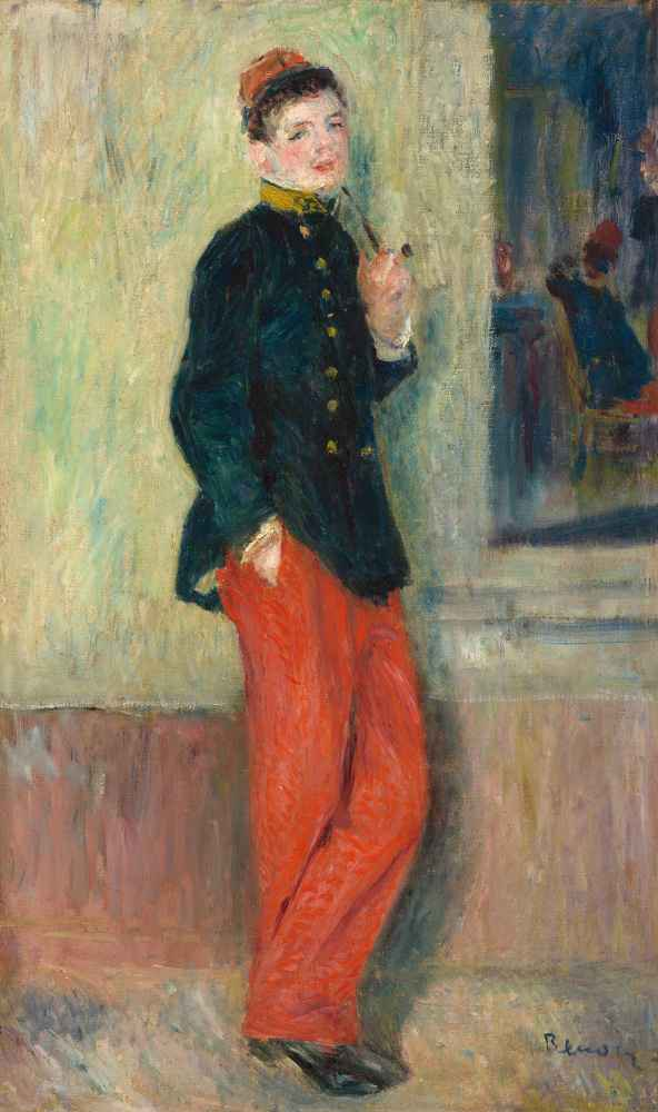 The Young Soldier - Auguste Renoir