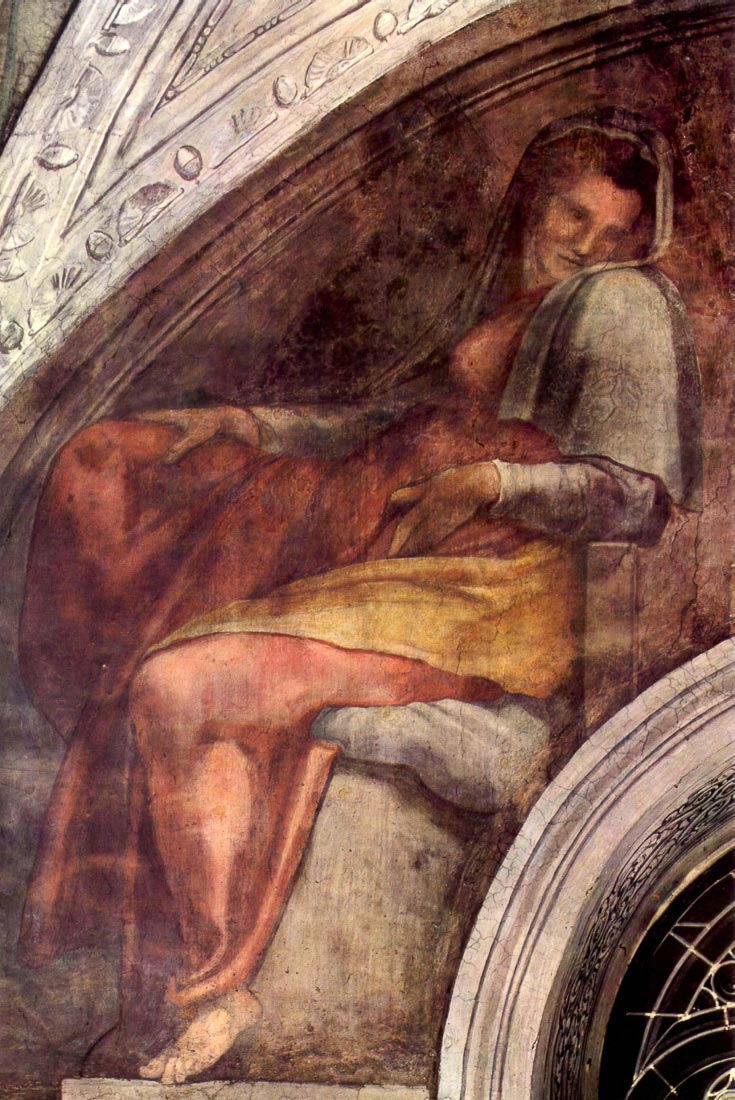 The ancestors of Christ - Michelangelo