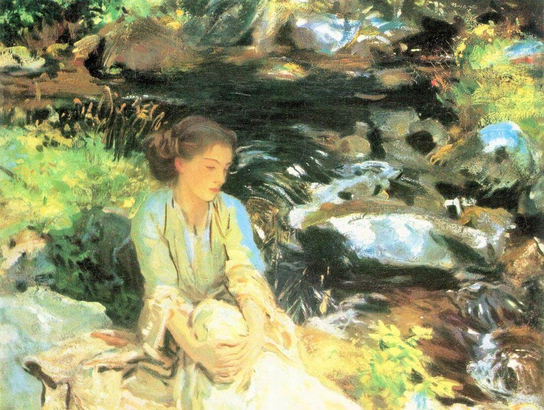 The black creek - John Singer Sargent