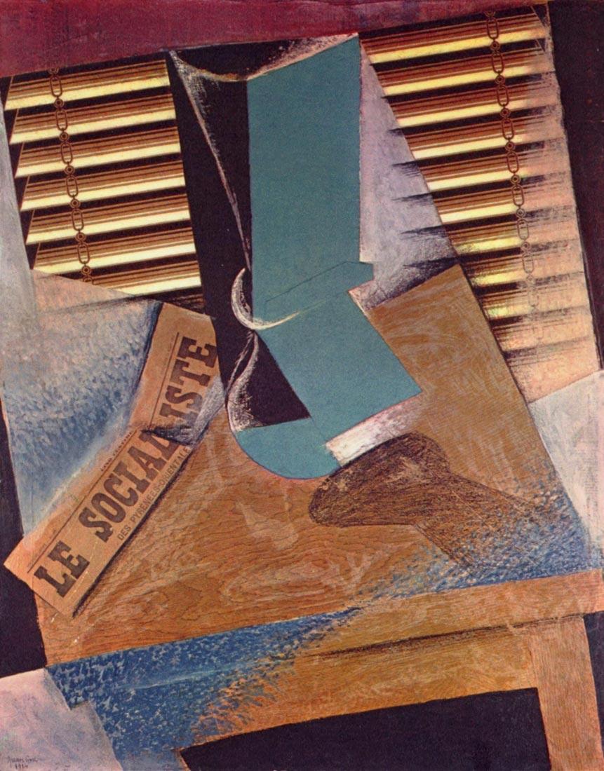 The blind - Juan Gris