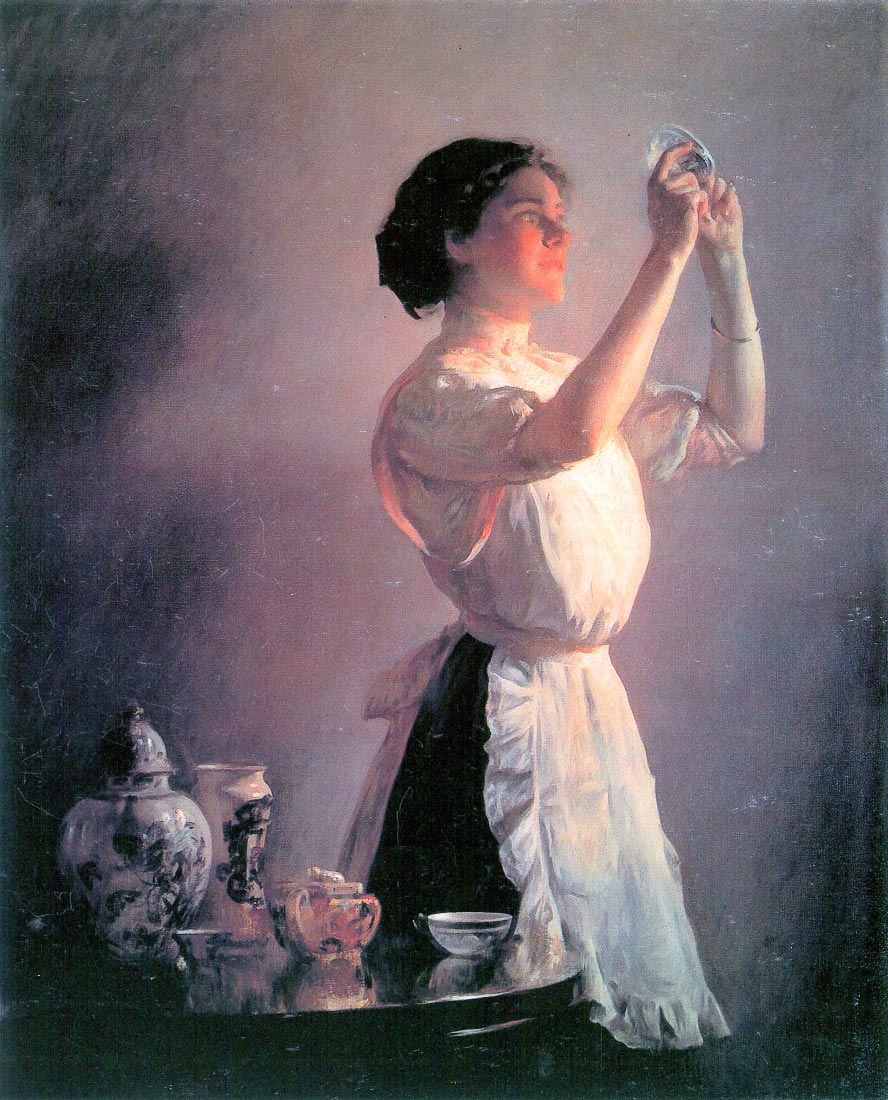 The blue cup - Joseph DeCamp