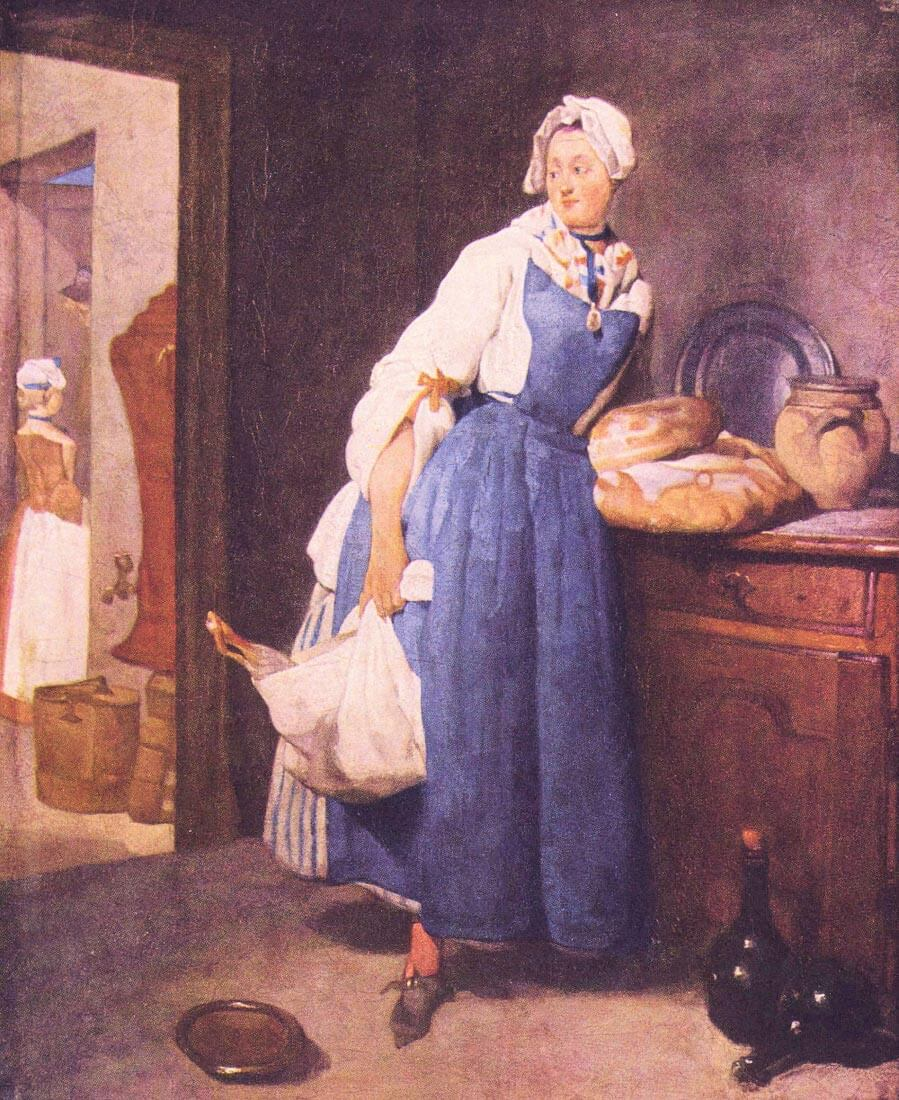 The bread - Jean Chardin