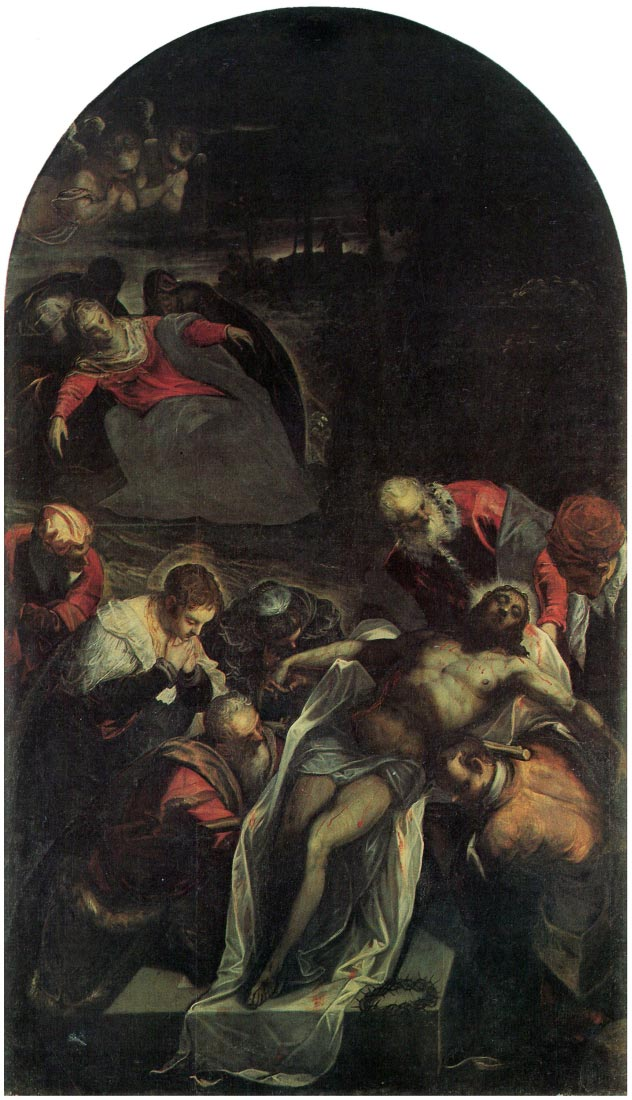 The burial - Tintoretto