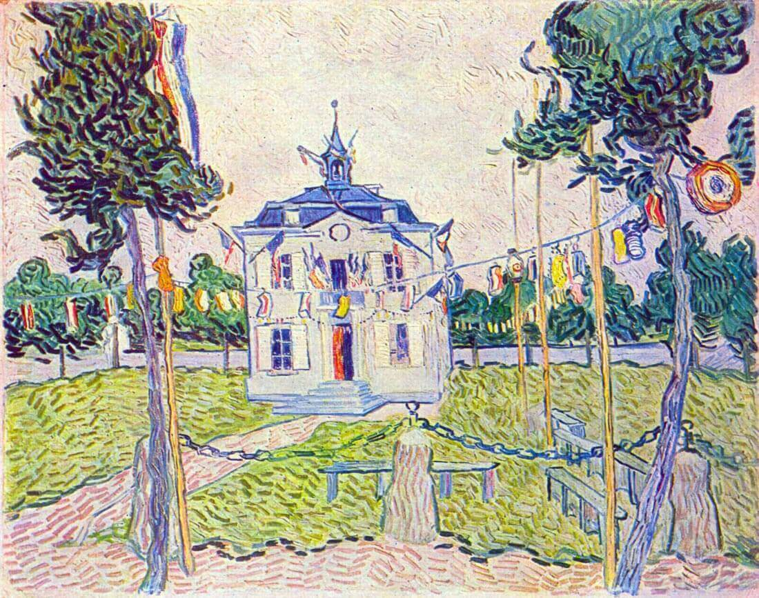 The community house in Auvers - Van Gogh