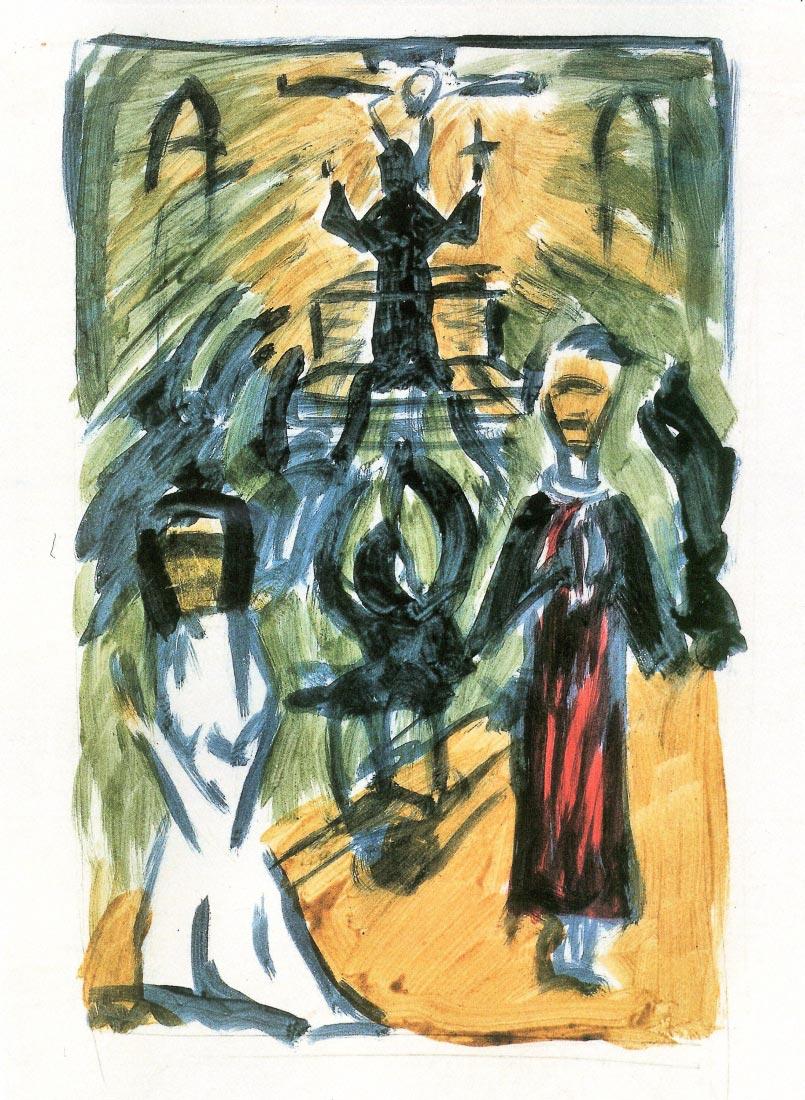 The confession - Walter Gramatte