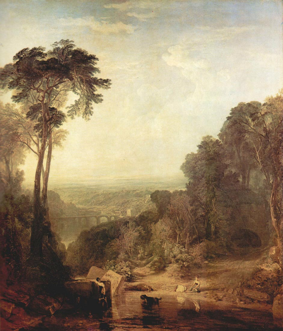 The crossing of the stream - Joseph Mallord Turner