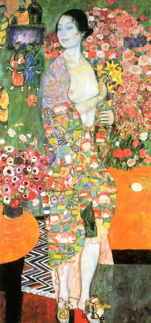 The dancer - Klimt