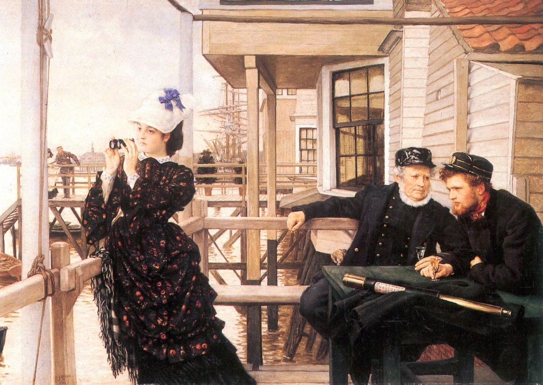 The daughter of the master - Tissot
