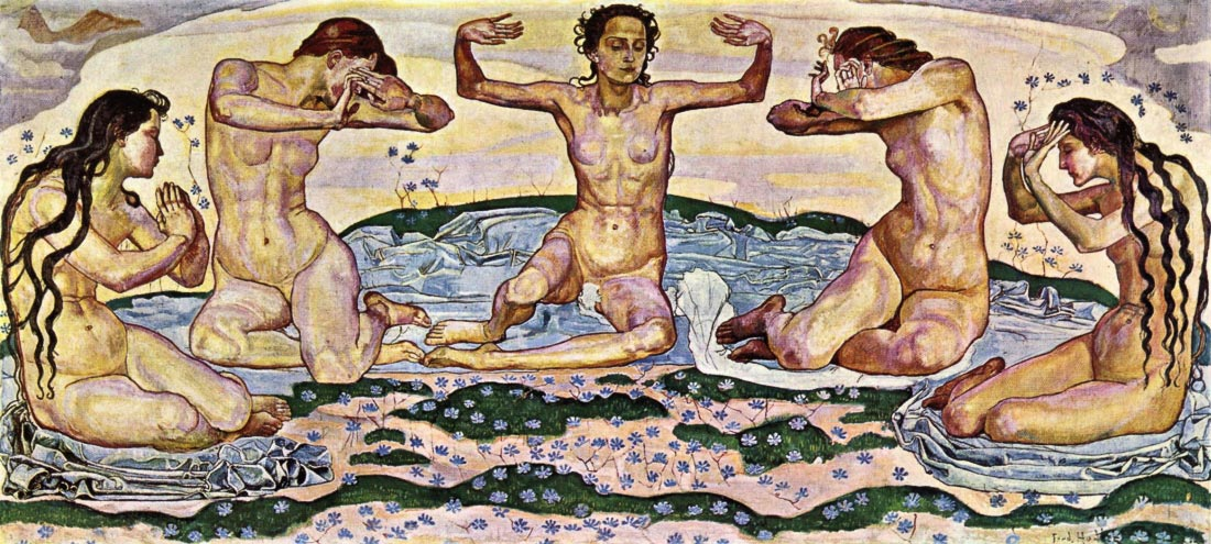The day - Ferdinand Hodler