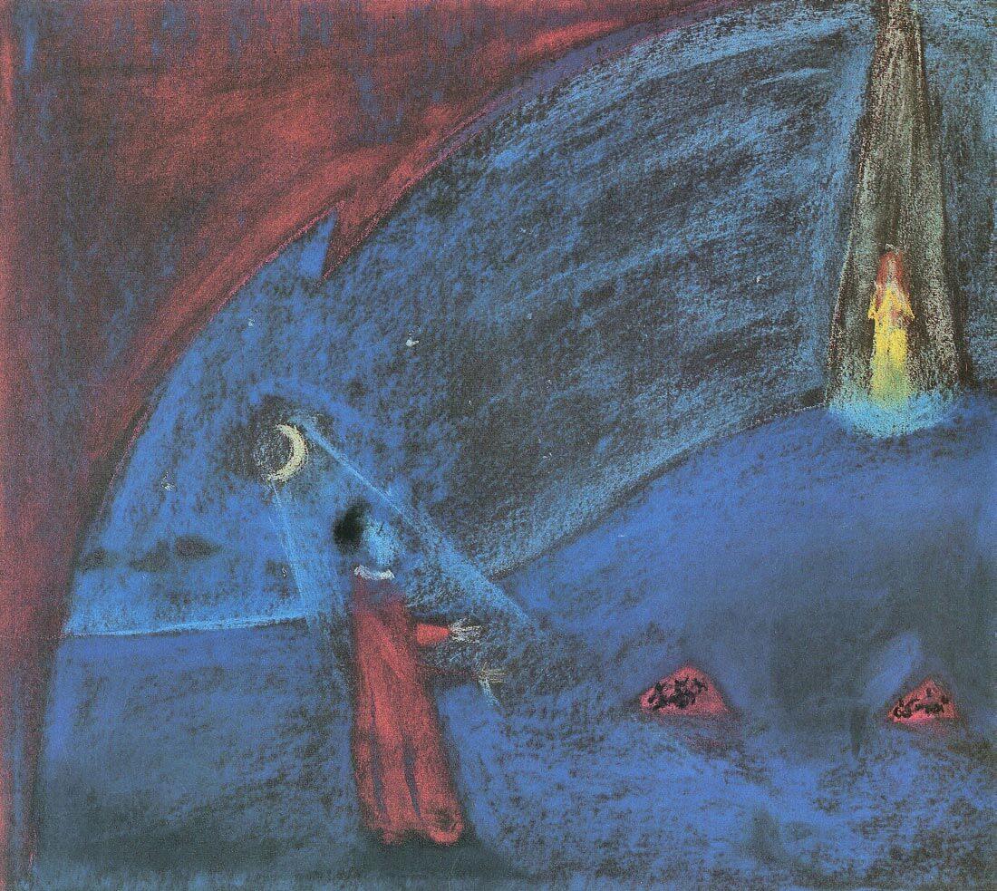 The dreaming boy II - Walter Gramatte