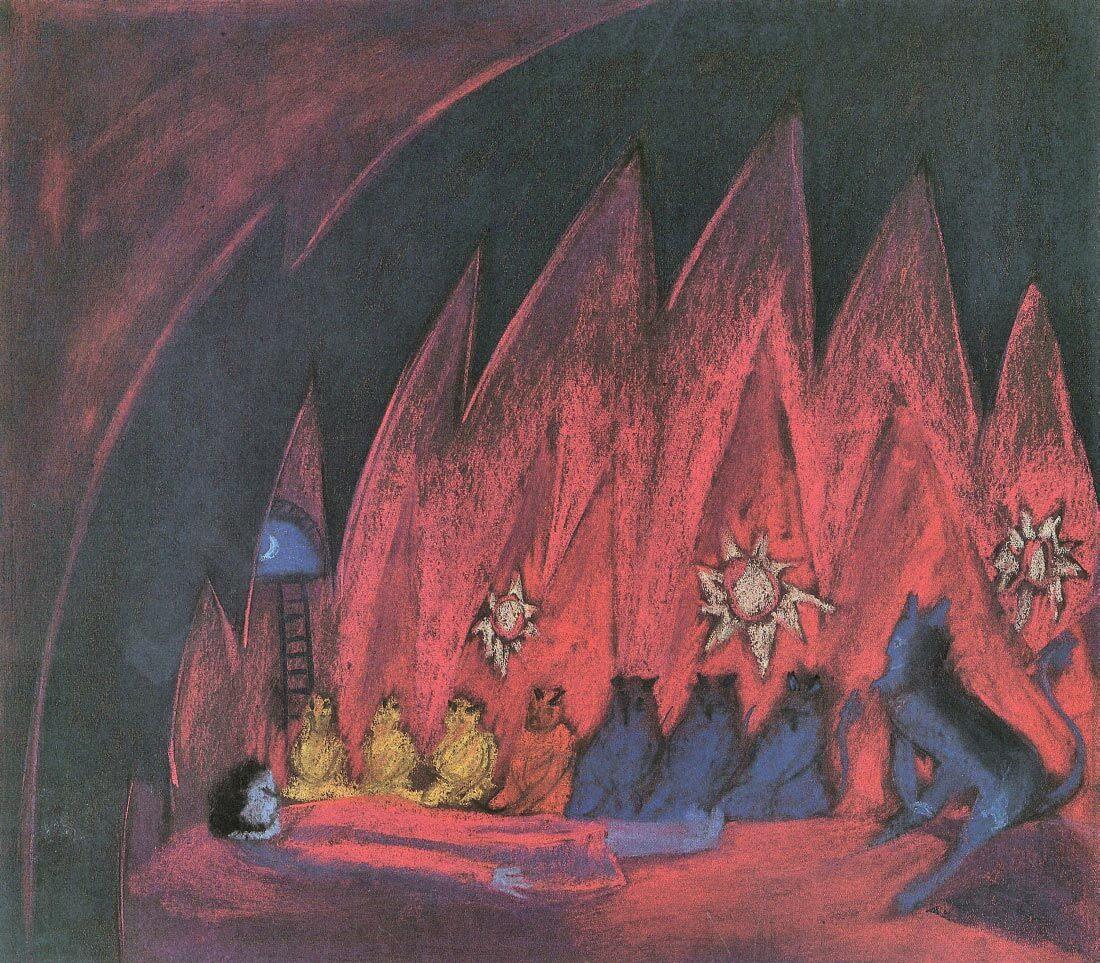 The dreaming boy IV - Walter Gramatte
