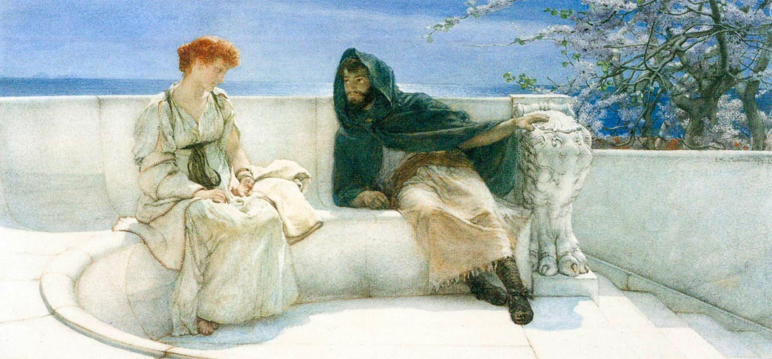 The explaination - Alma-Tadema