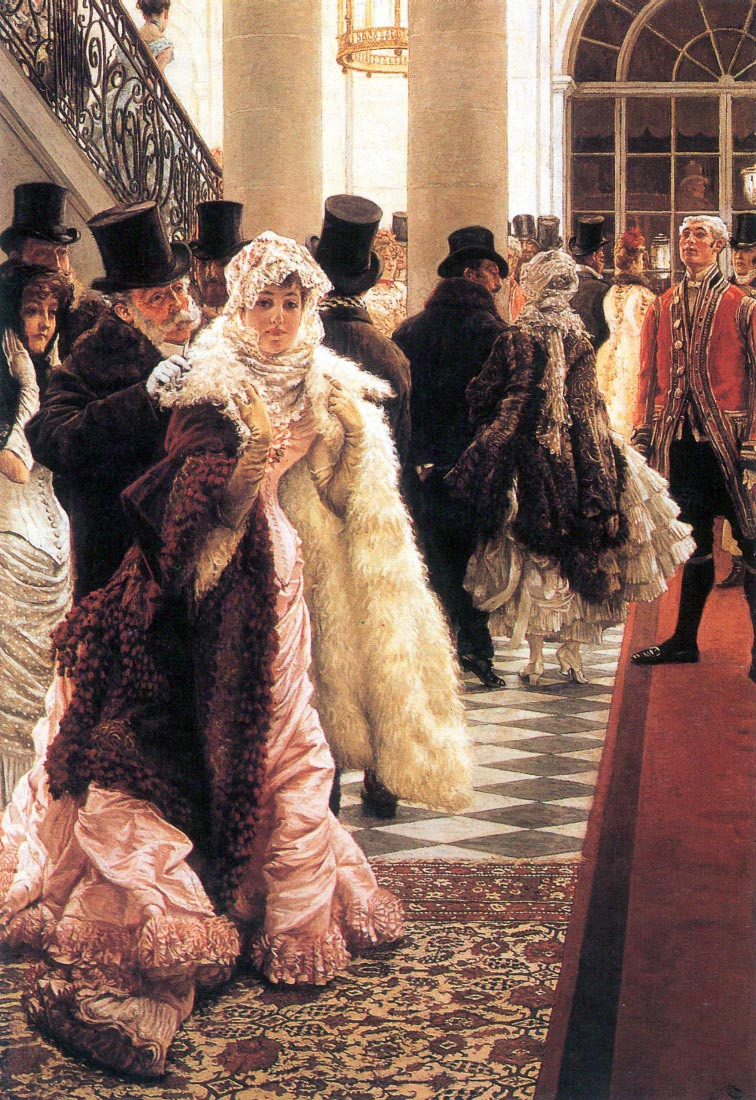 The fashionable woman - Tissot