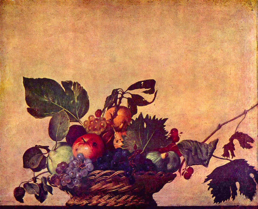 The fruit basket - Caravaggio