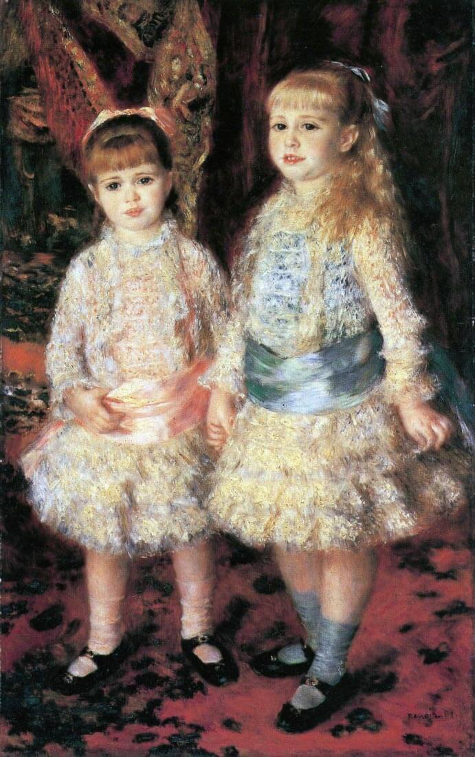 The girls Cahen d Anvers - Renoir