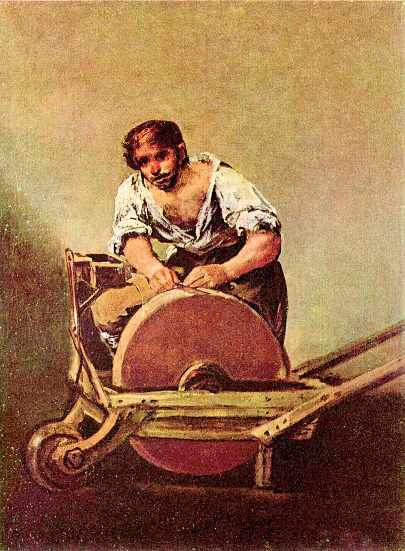 The grinder - Goya