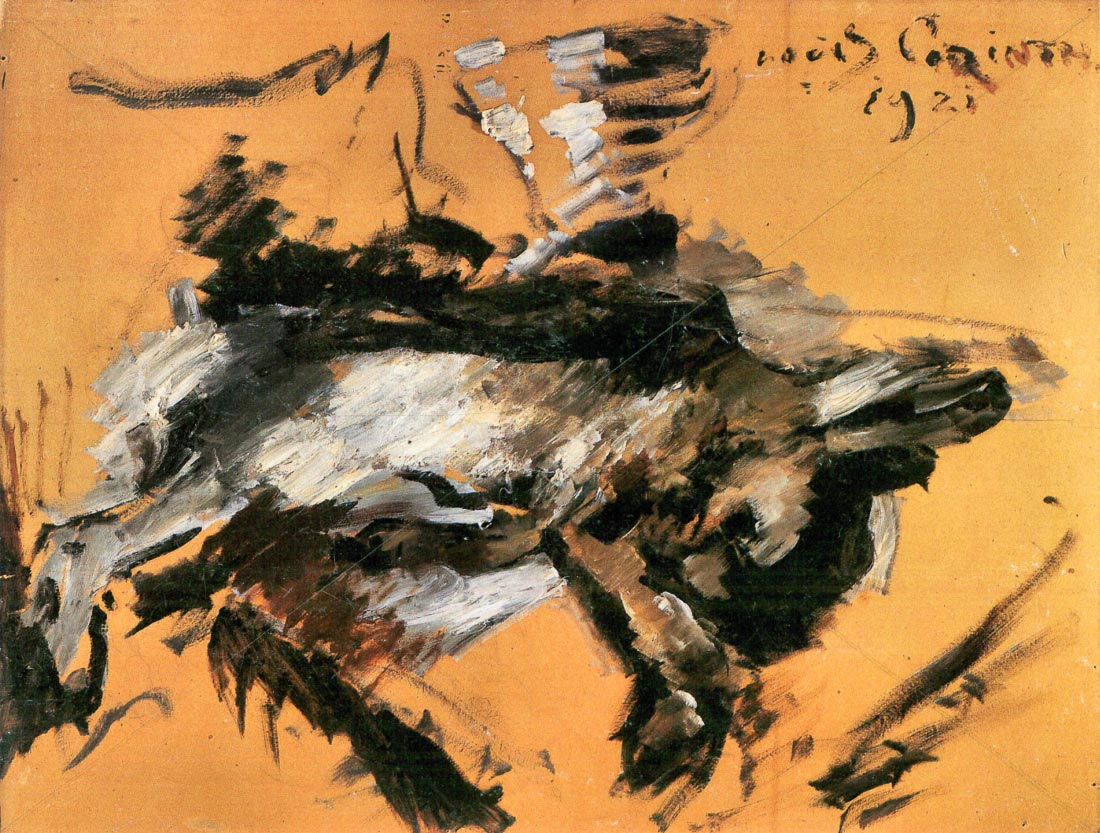 The hare - Lovis Corinth