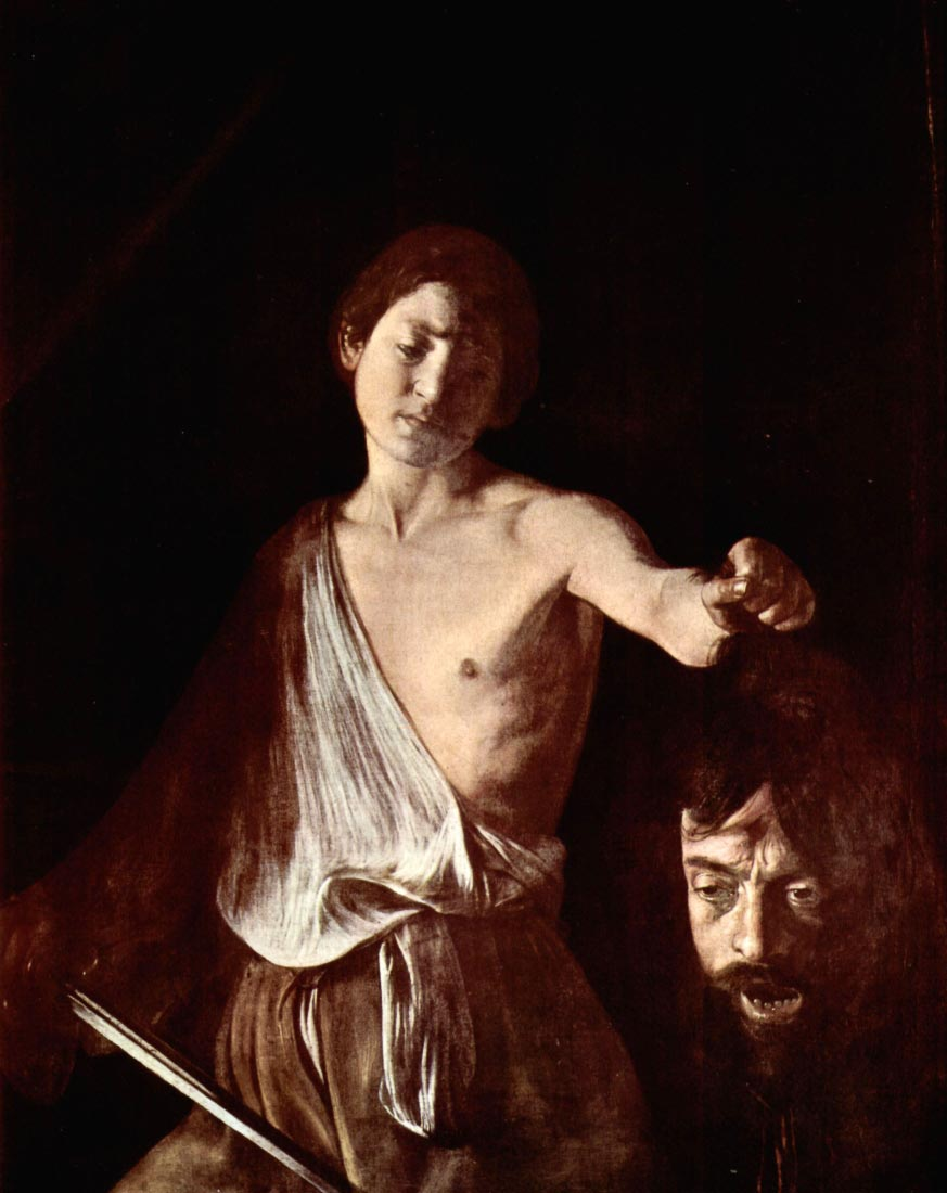 The head of Medusa, Tondo - Caravaggio