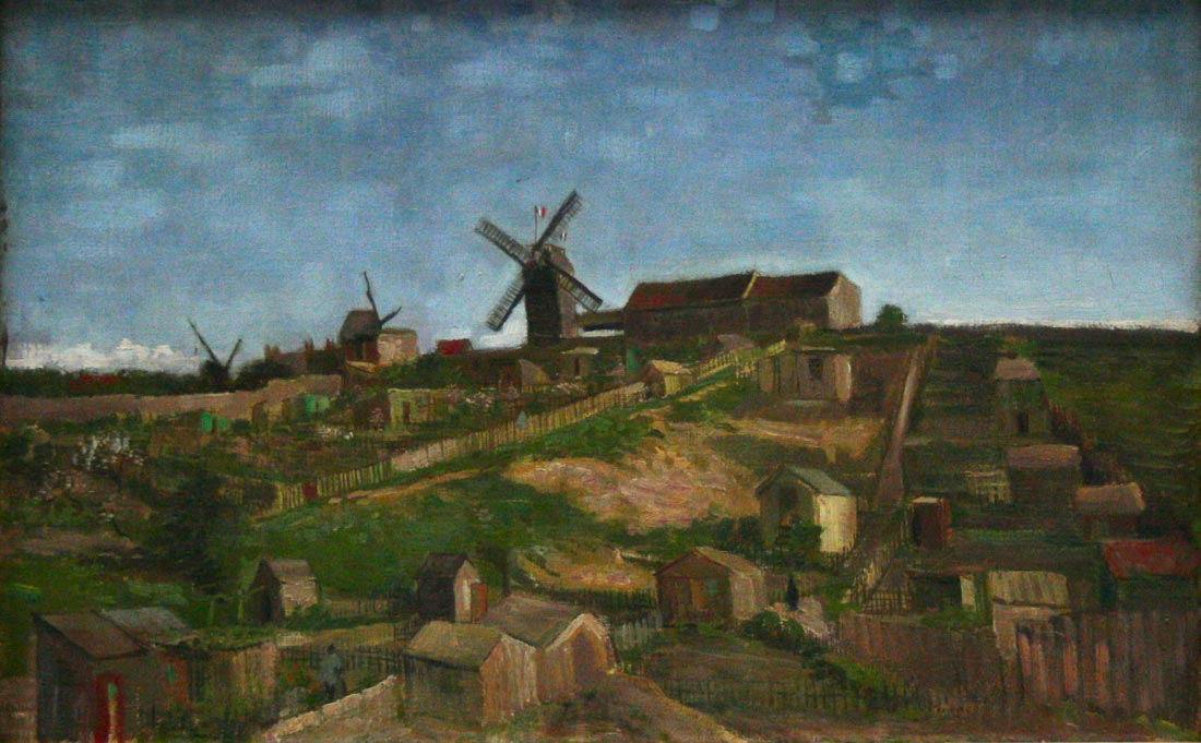 The hill of Monmartre - Van Gogh