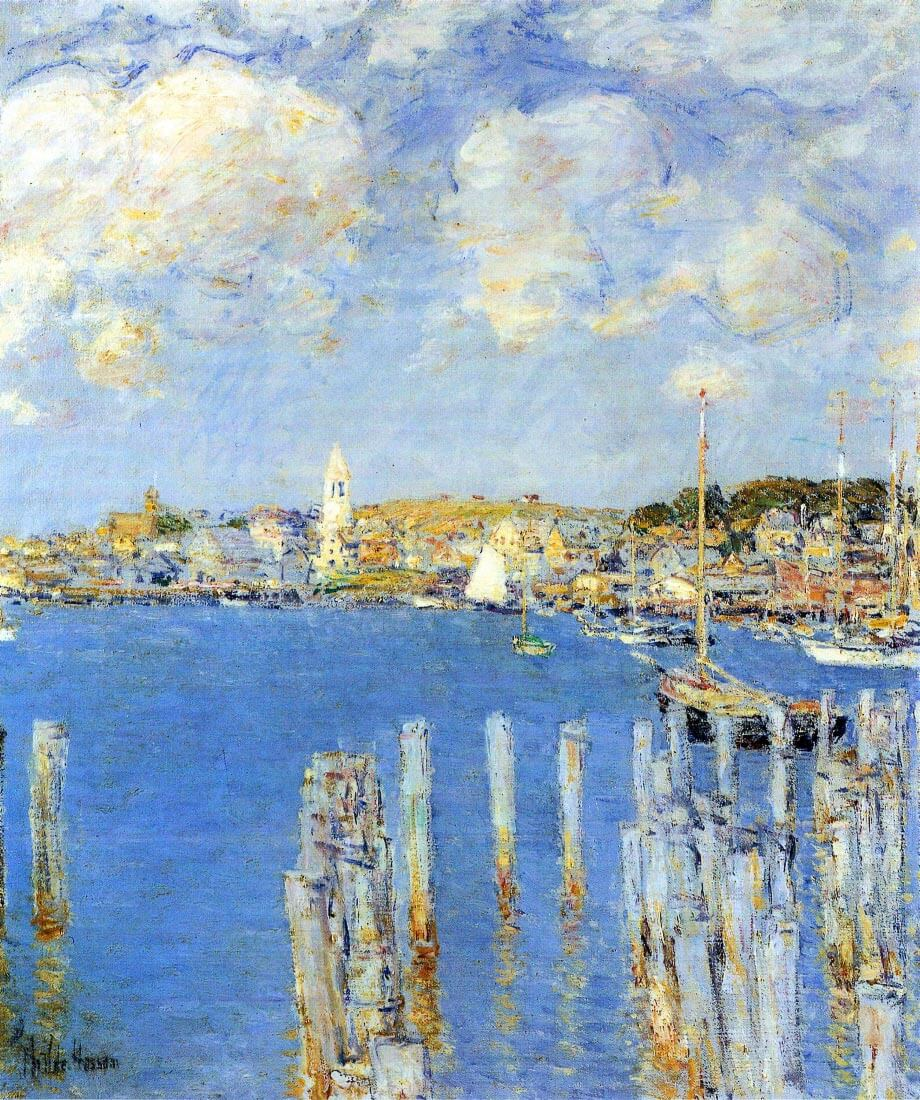 The inland port of Gloucester - Hassam
