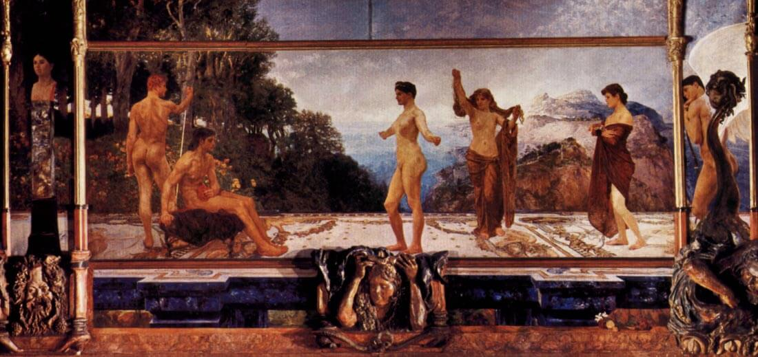 The judgement of Paris - Max Klinger