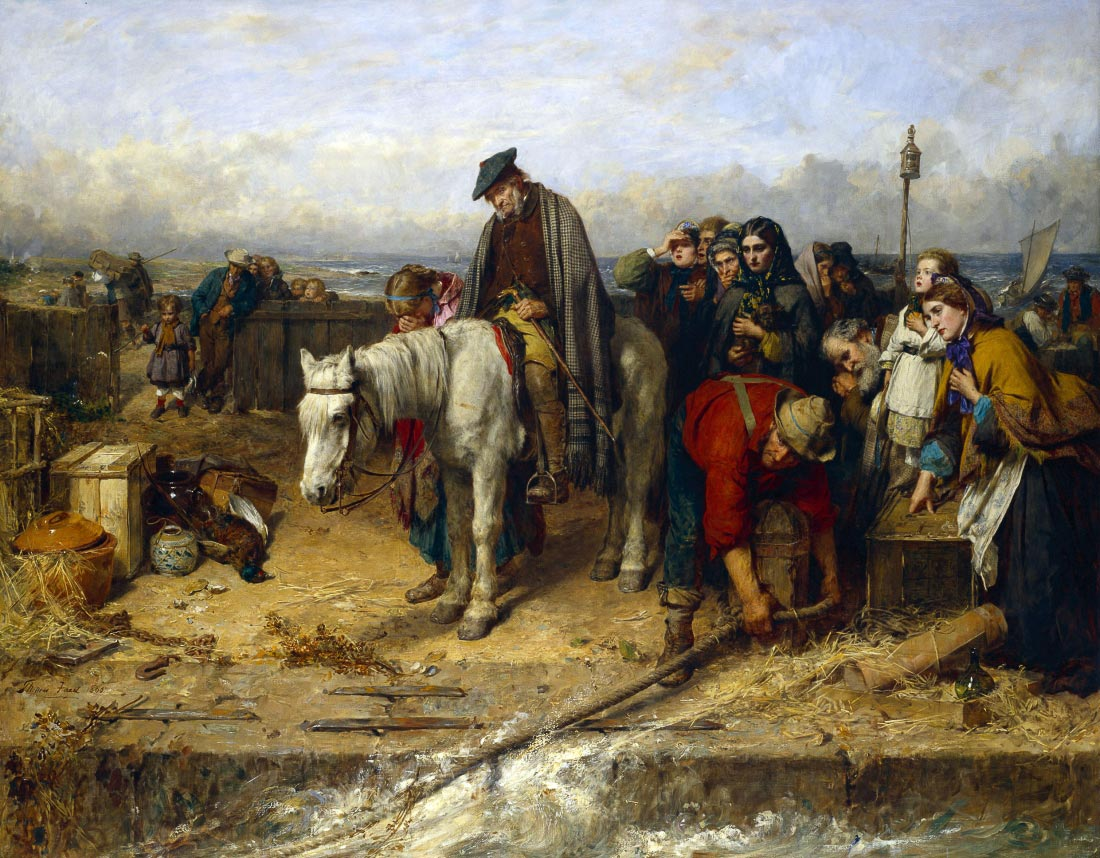 The last of the Clan - Thomas Faed