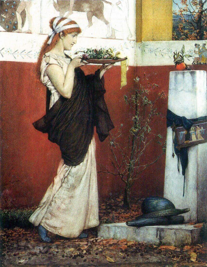 The last roses - Alma-Tadema