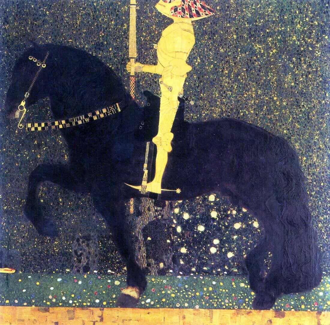 The life of a struggle (The Golden Knights) - Klimt