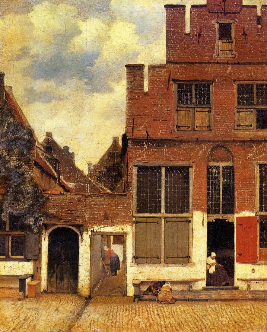 The little street - Vermeer