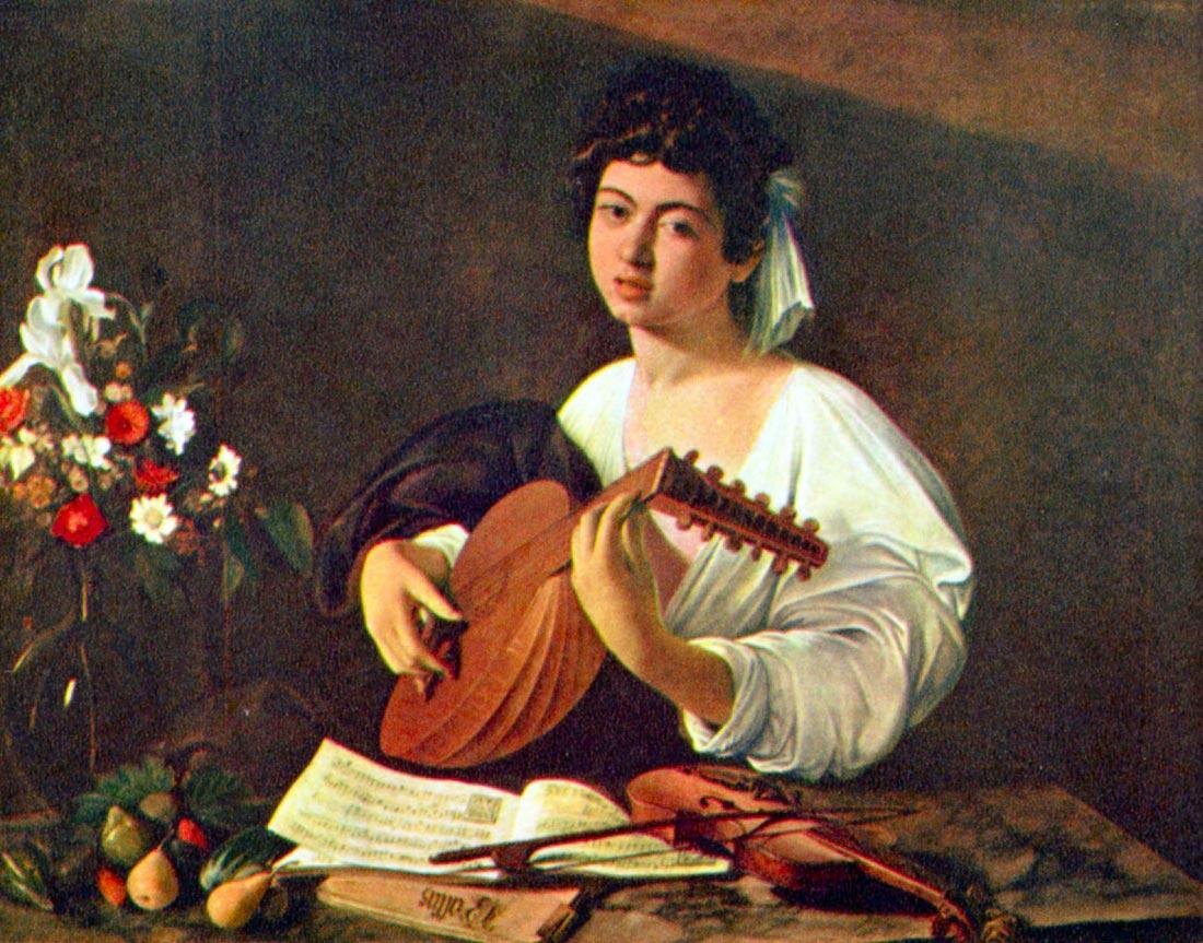 The lutist - Caravaggio