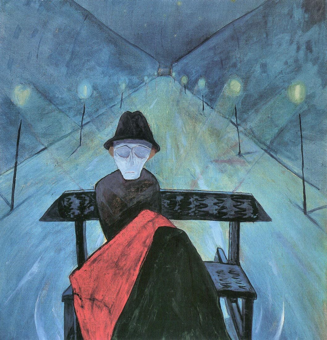The man in the carriage II - Walter Gramatte