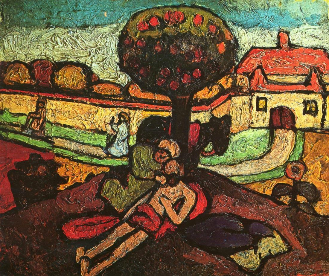 The merciful Samaritan - Modersohn-Becker