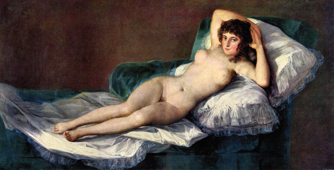 The naked Maja - Goya