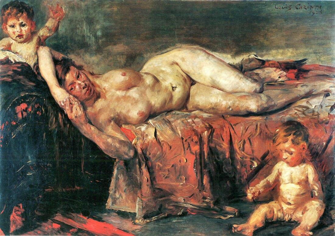 The nudity - Lovis Corinth
