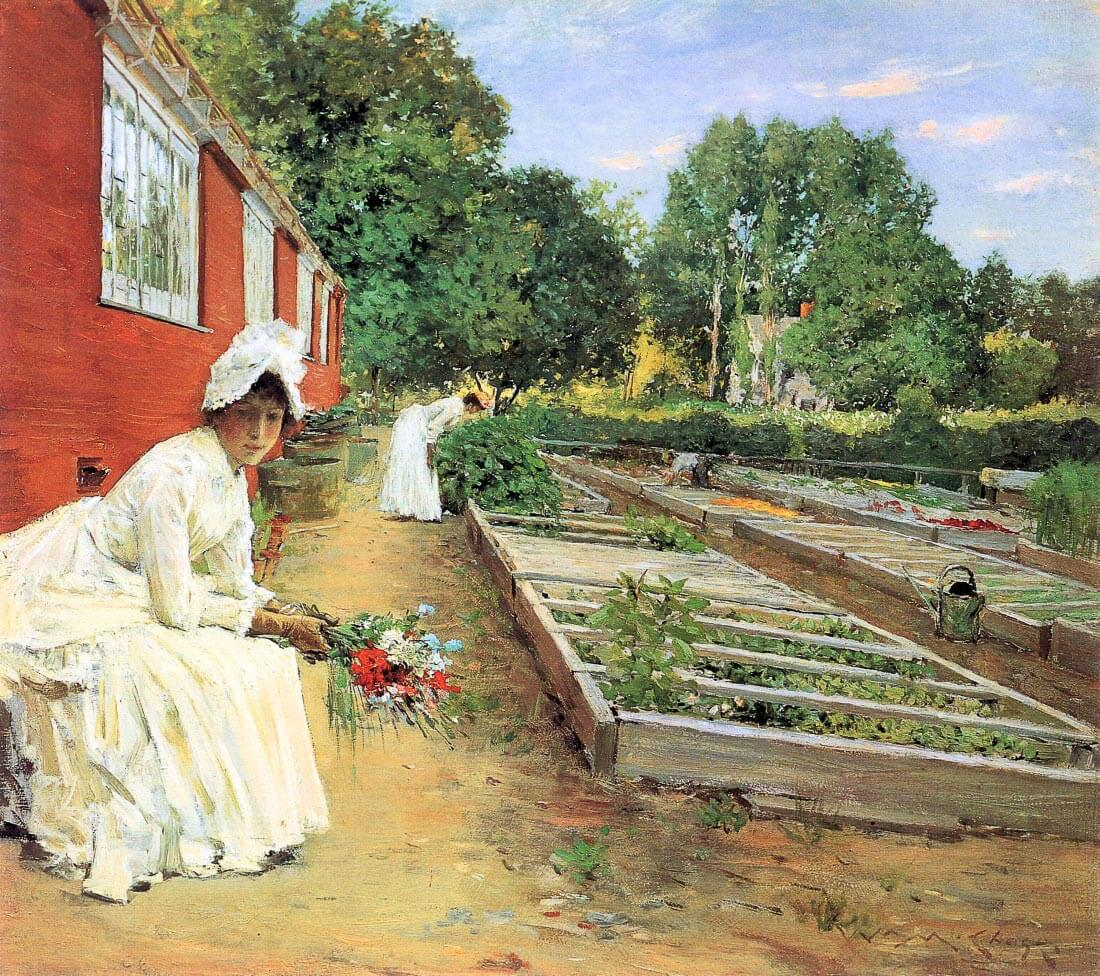 The nursery - William Merritt Chase