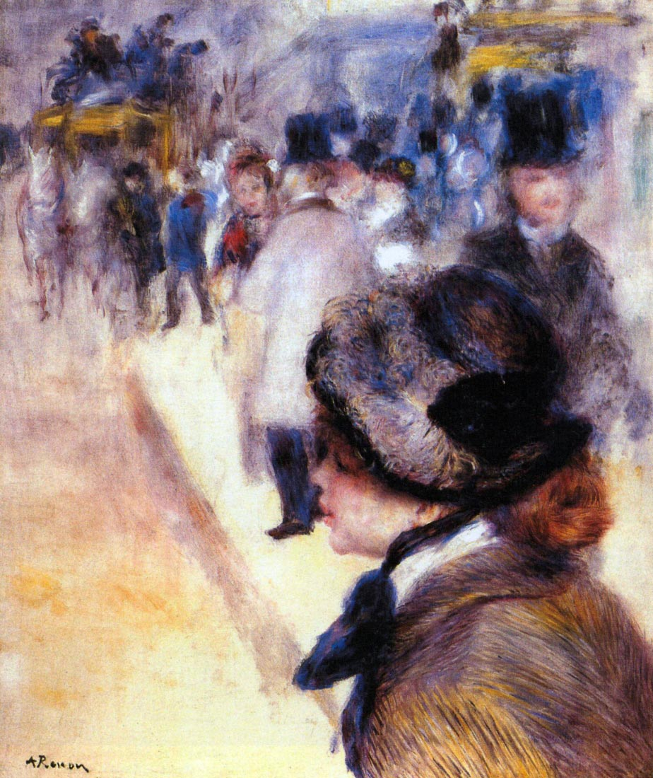 The place Clichy - Renoir